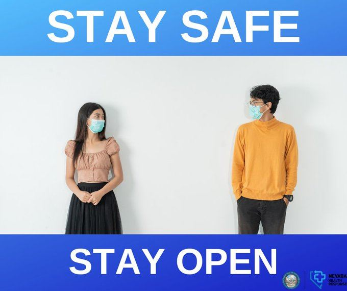 Stay safe, stay open